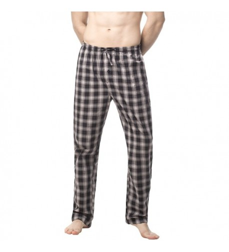 Lapasa Cotton Pajama Medium Black Grey