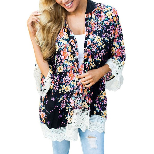 EVALESS Womens Floral Casual Swimwear