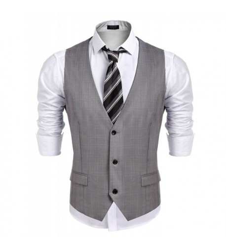 Detailorpin Business Skinny Wedding Waistcoat