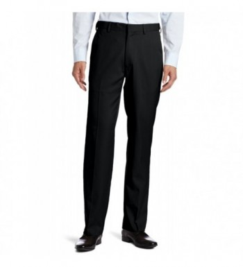 Haggar Plain Expandable Waistband Straight