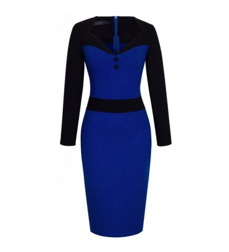 HOMEYEE Womens Fitted Bodycon Dresses