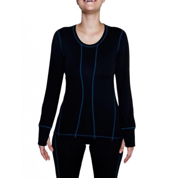 Terramar Womens Sleeve Performance Carbon