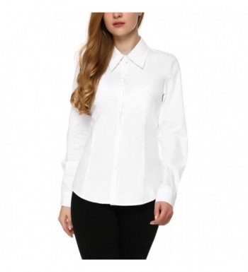 Mixfeer Womens Cotton Simple Button