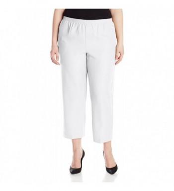 Alfred Dunner Womens Short White