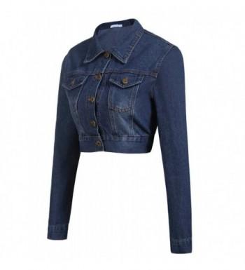 Cheap Real Women's Denim Jackets Outlet