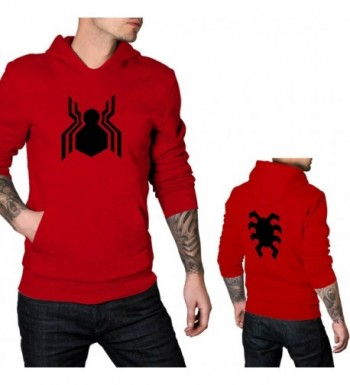 Mens Spider Man Homecoming Front Hoodie