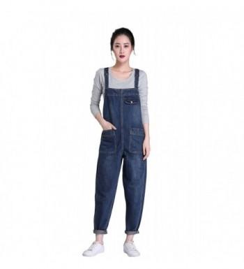 Soojun Womens Casual Baggy Overalls