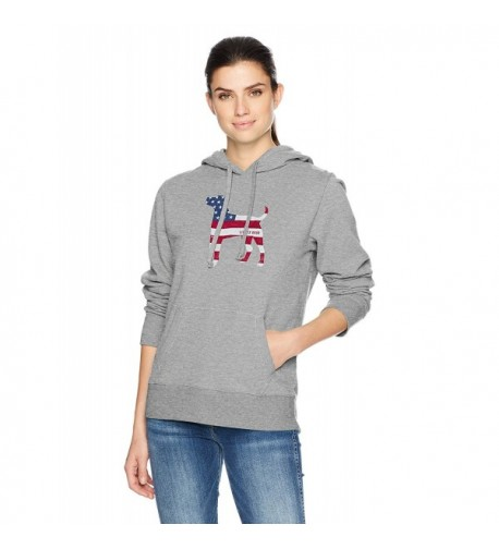 Life Good Womens Hoodie Heather