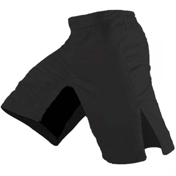 Blank MMA Shorts Black 36
