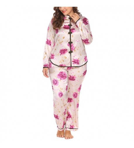 Womens Pajamas Chinese Inspired pattern