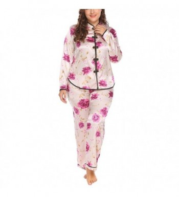 Womens Pajamas Chinese Inspired pattern  Women s Pajama Sets for ... 944d2c80b