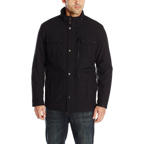 Hawke Co Pocket Jacket Black