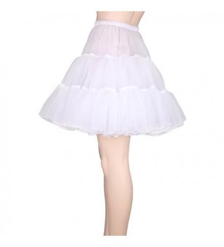 Tinksky Fancy Women Skirt Petticoat