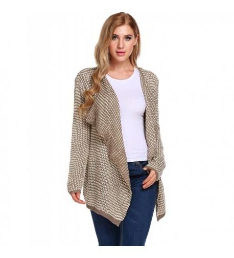 GEESENSS Pointelle Knitwear Cardigan Sweater