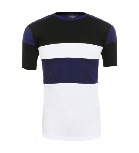 COOFANDY Casual Contrast Fashion T Shirt