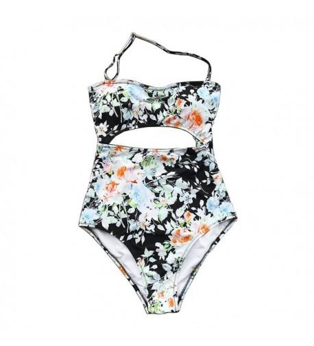 JIANLANPTT JIANLANPT Monokini Maillot Swimsuit