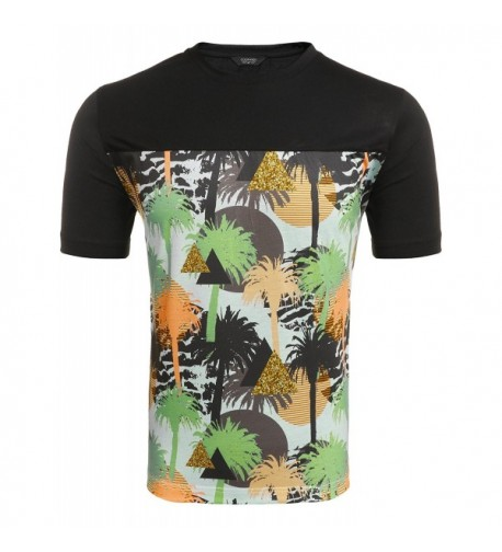 COOFANDY Fashion Breathable Printing T Shirt