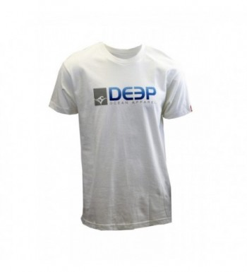 Deep Ocean Tee White X Large