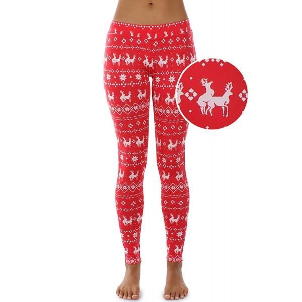 2d23e4e6b3e61 Women's Red Humping Reindeer Christmas Leggings - Funny Ugly ...