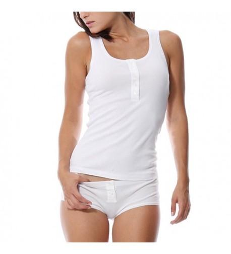 KalvonFu Womens Sleepwear Sleeveless Pajama