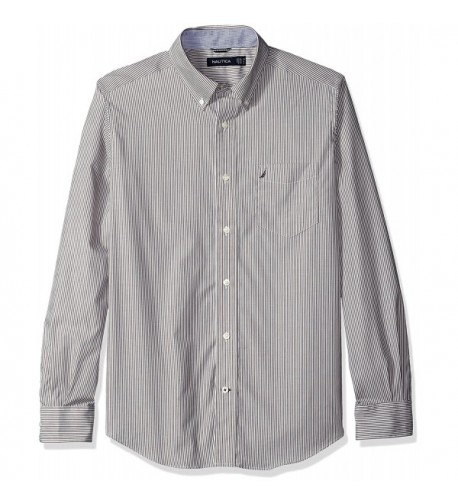 Nautica Classic Wrinkle Resistant Striped