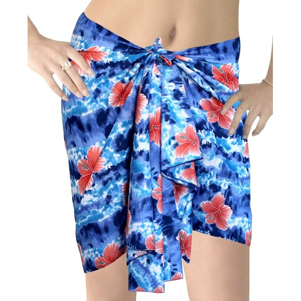 caaad6c618fd5 ... Mini Sarong Bikini Cover UPS Wrap Skirt Swimsuit Hibiscus Beachwear  Dress Scarf - Hibiscus Inkjet - CB1284LA183. Leela Floral Hawaiian Sarong  Inkjet