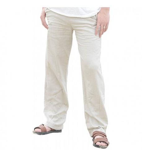 Utcoco Casual Loose Straight Legs Stretchy