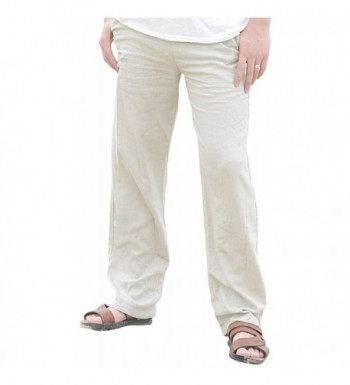 Utcoco Casual Loose Straight Legs Stretchy