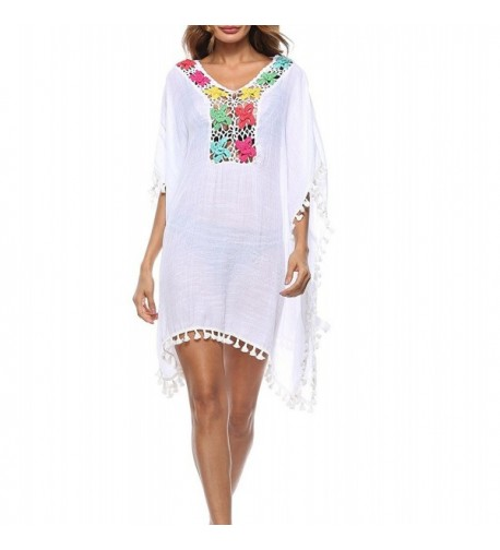 Coverups Dresses Swimsuit Colorful Handmade