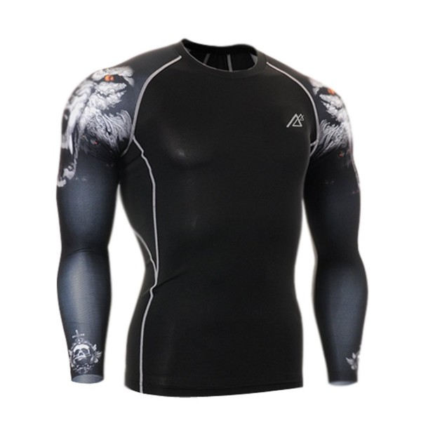 Vision Sports Sleeve Compression T Shirts