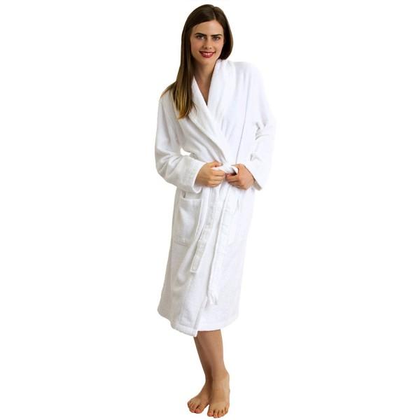Women s Robe- Turkish Cotton Terry Shawl Bathrobe Made in Turkey ... 5f91388de