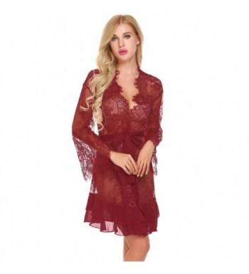 e72c87e28cbf Hindom Lingerie Nightgown Babydoll Sleepwear  2018 New Women s Robes  Clearance ...