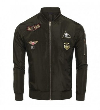 Bomber Jacket Lightweight Flight Windbreaker