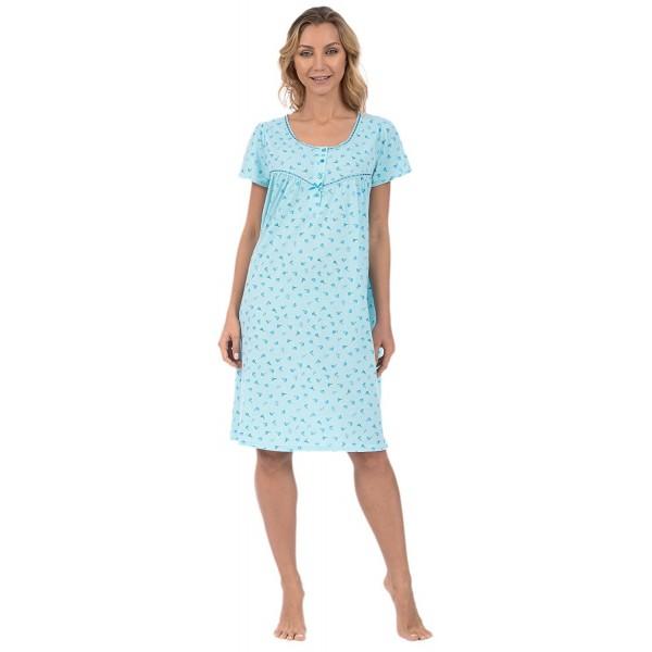 efa734e038bb Womens Short Sleepshirt Loungewear -
