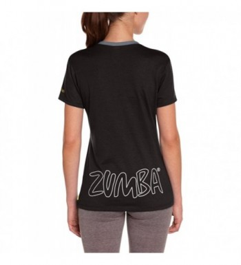 373341b42d81 Zumba Fitness Womens V Neck X Small; Designer Women's Athletic Shirts  Outlet Online
