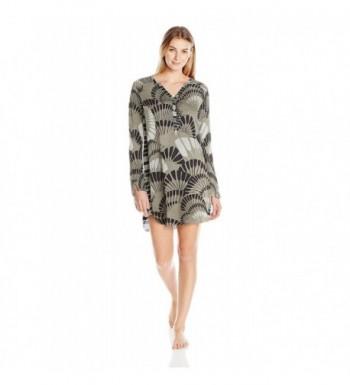 Josie Natori Womens Sparkle Sleepshirt