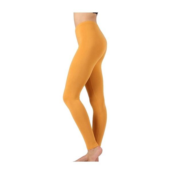 Selected Premium Leggings OP 1851 Mustard