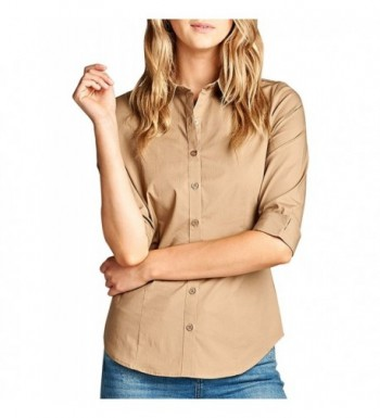 8030f26170 Available. KOGMO Womens Classic Sleeve L Mocha  Designer Women s Blouses   Cheap ...