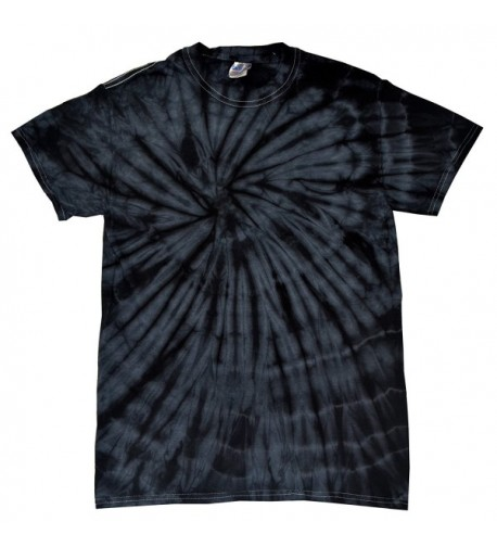 Colortone Tie T Shirt Spider Black