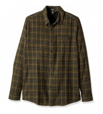 Volcom Brodus Sleeve Flannel Military