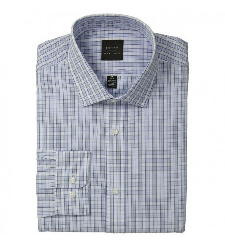 Oxford NY Plaid Spread Collar