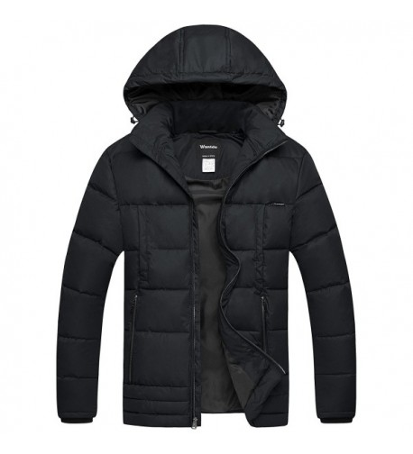 Wantdo Puffer Insulated Windproof Quilted