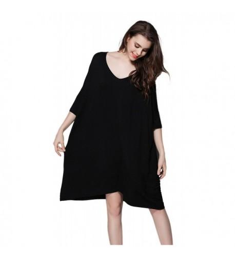 Hycurey T Shirt Sleepwear Sleeve Nightwear