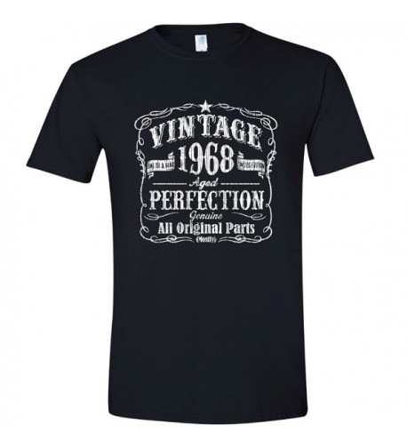 Vintage Birthday Shirt Grandfather Black