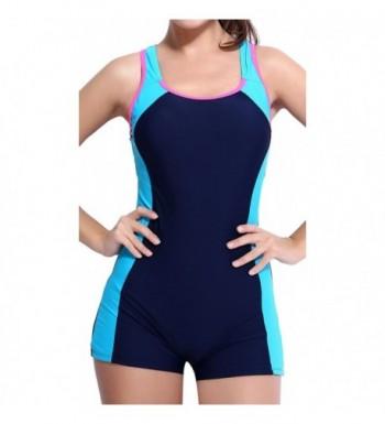 BeautyIn retro swimsuit women swimwear