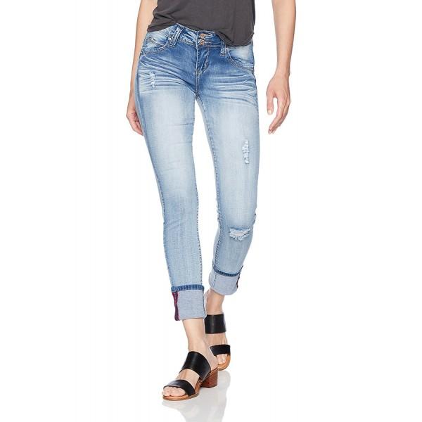 YMI Womens Wannabettabutt Anklet Skinny