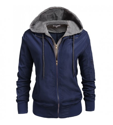 Unibelle Womens Casual Zip Up Sweater