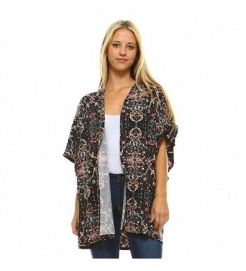 Frumos Womens Cardigan Sleeve BK6162