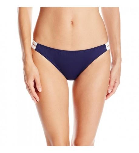 Nautica Womens Solid Bikini Bottom
