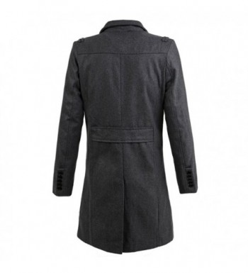 Discount Real Men's Wool Coats On Sale